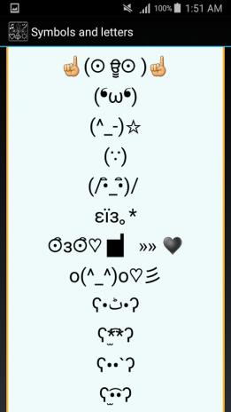 Cool Text Symbols Letters Emojis Nicknames 407 Apk