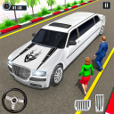 Big City Limo Car Taxi Game: Car Driving Simulator