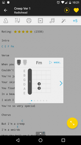 Ultimate Guitar Chords Tabs 486 Laden Sie Apk Fr Android