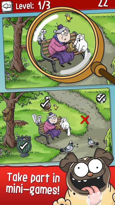 Simon's Cat - Crunch Time screenshot 1