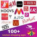 Shop Myntra, HM, Ajio, Nykaa, Koovs, Urbanic, Biba