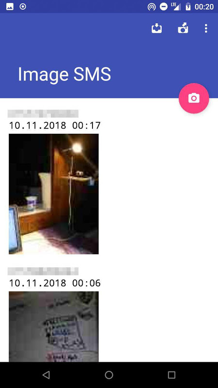 Image SMS screenshot 1