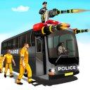 Shooting Police poisoner Gun Bus Driving Simulator