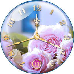 Rose Clock Live Wallpaper 27 Download Apk For Android