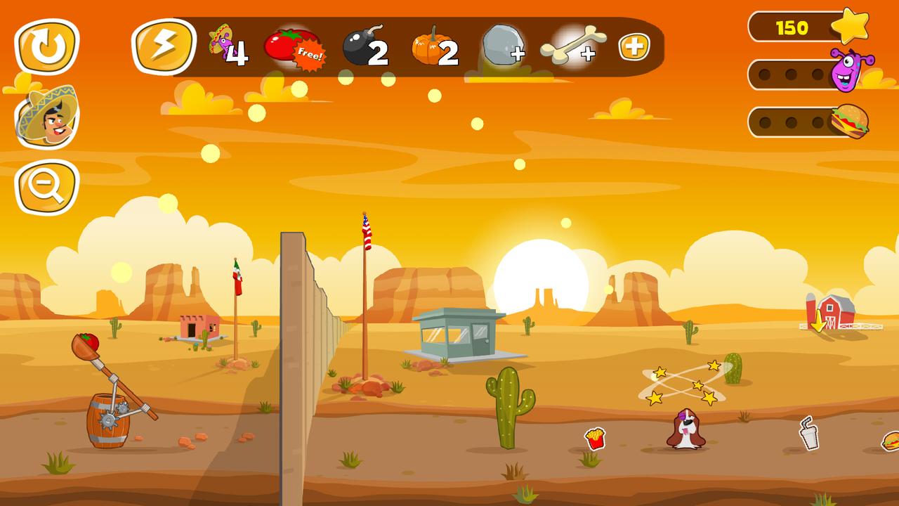 Jump the Wall - Mexico USA : Catapult, Jump, Escape - Appcoins ed. screenshot 4