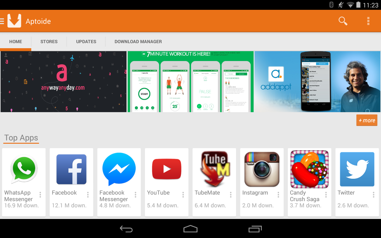 Aptoide screenshot 1