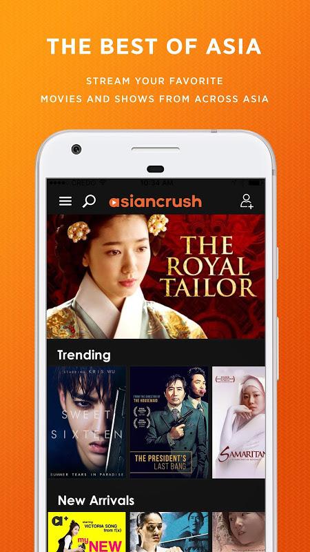 AsianCrush - Android TV screenshot 1