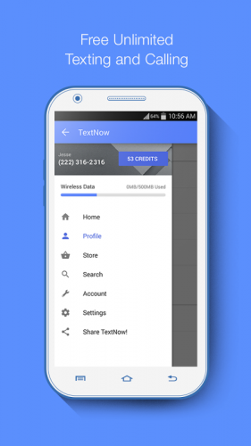 TextNow - Free US Phone Number screenshot 4