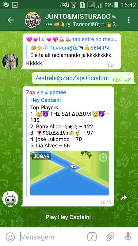 zap messenger en francais