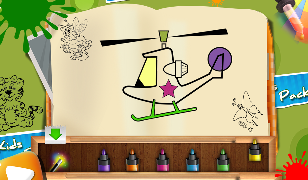 Paint Me - Kids Painting Game | Download APK for Android - Aptoide