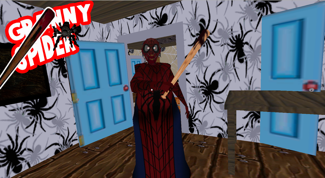 Spider Granny Mods : Horror House Escape Game screenshot 2
