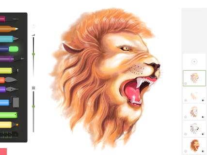 Drawing Desk: Draw,Paint,Color,Doodle & Sketch Pad screenshot 6