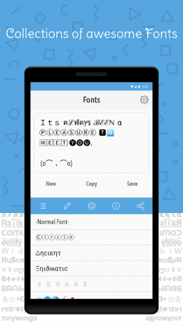 Cool Fonts for Instagram Pro 2 3 Android - Aptoide için APK indir