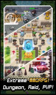 Grow Stone Online : 2d pixel RPG, MMORPG game screenshot 3