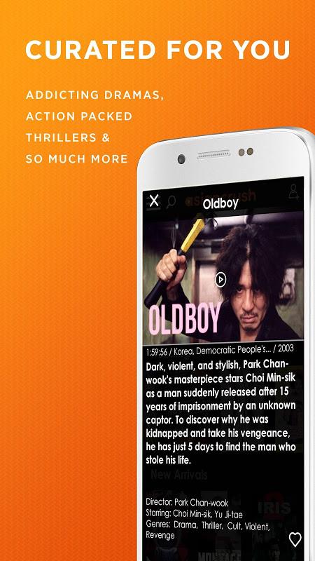 AsianCrush - Android TV screenshot 2