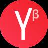 Яндекс Бета Icon