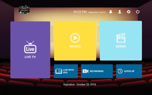 IPTV Galaxy 1 7 Download APK for Android - Aptoide