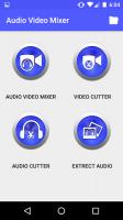 Audio Video Mixer Video Cutter video to mp3 app Screen