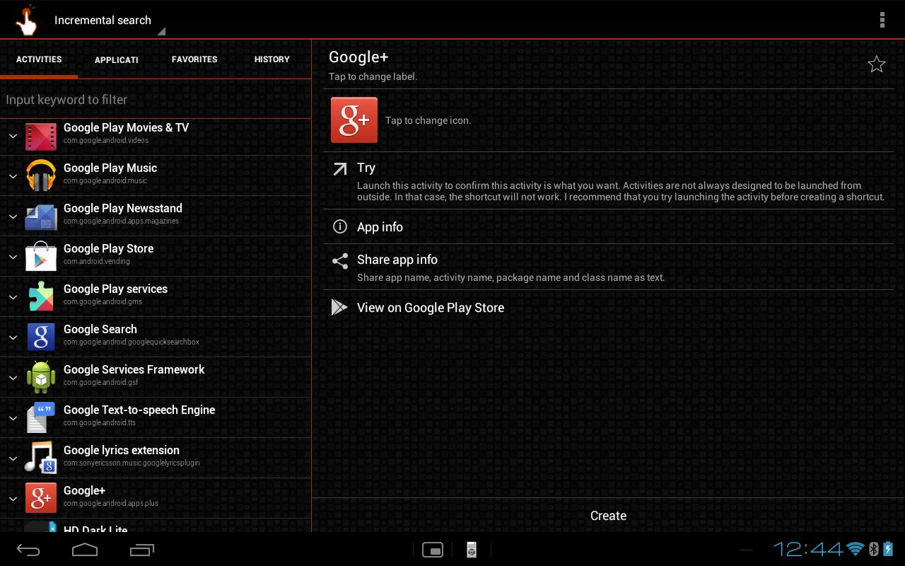 QuickShortcutMaker screenshot 1