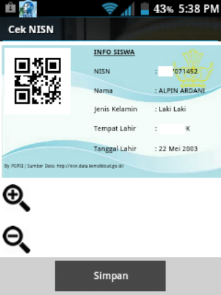 Cek nisn 31 download apk for android aptoide cek nisn screenshot 5 stopboris Choice Image