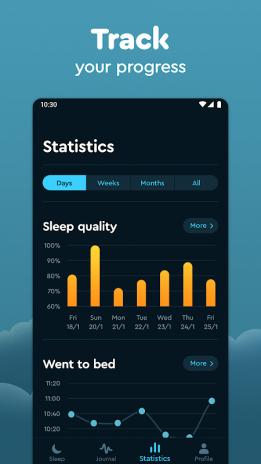 Sleep Cycle: Sleep analysis & Smart alarm clock 3 0 2 3143