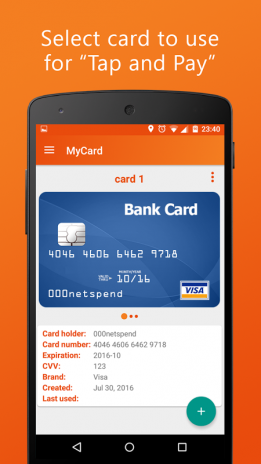 MyCard lite 1 4 Download APK for Android - Aptoide