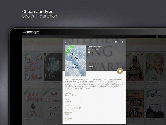 eReader Prestigio: Book Reader screenshot 16