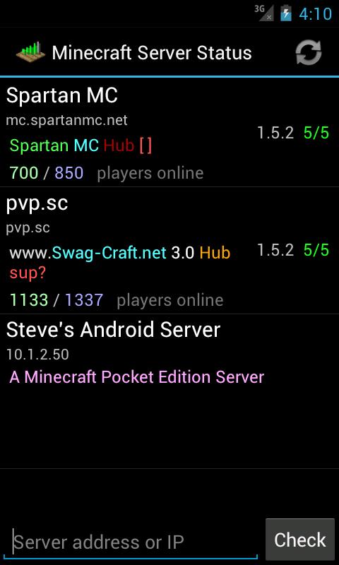 Server Status (for Minecraft) 2 1 3 Download APK para