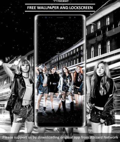 Black Pink Wallpapers Kpop 3 1 Muat Turun Apk Untuk Android Aptoide