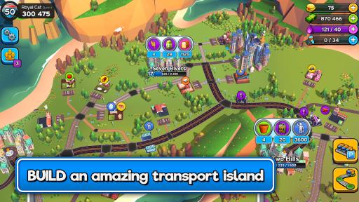 Transit King Tycoon  – Transport Empire Builder screenshot 1