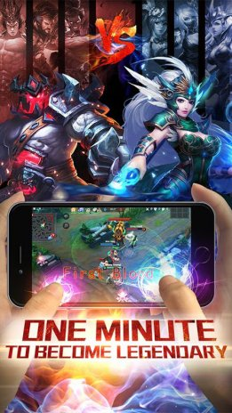 Ảnh chụp màn hình legendary 5v5 moba game 1 ...