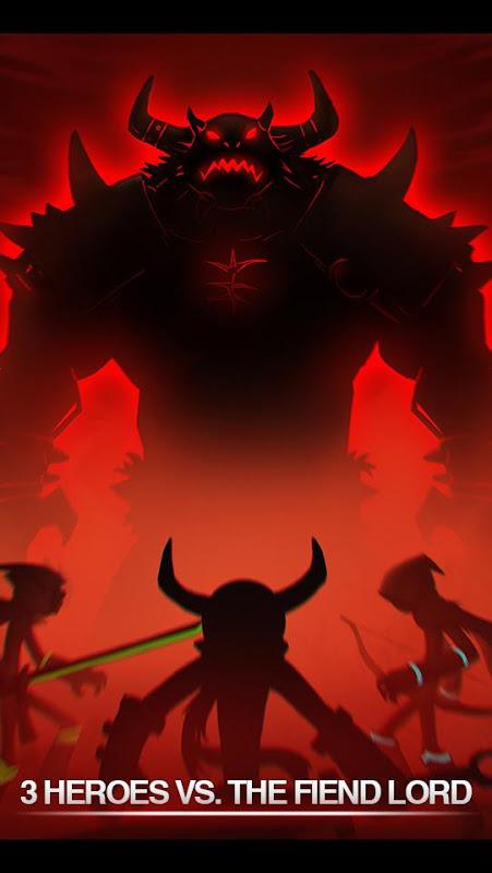 League of Stickman 2019- Ninja Arena PVP(Dreamsky) screenshot 1