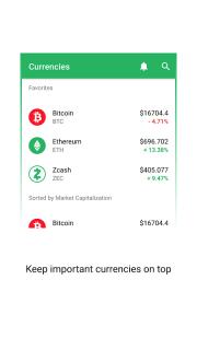 Vertfolio - Cryptocurrency Portfolio App screenshot 5