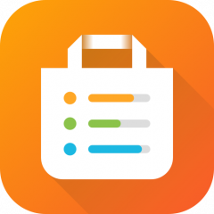 ini smart shopping list icon