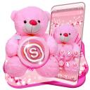 Pink Teddy Bear Theme