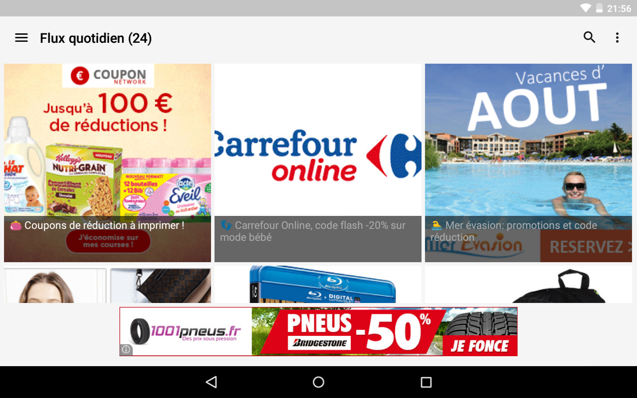 😎 Max de bons plans, codes promos, ventes flash screenshot 2