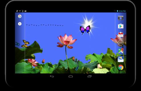 Butterfly 2 live wallpaper screenshot 1