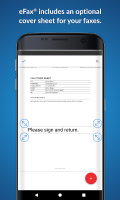 eFax – Send Fax From Phone Screen
