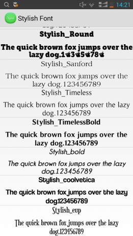 Stylish Font Flipfont Free 1 0 Download APK for Android