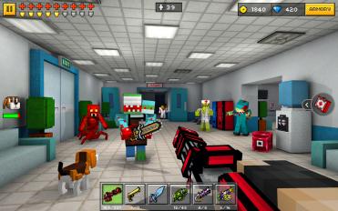 pixel gun 3d pocket edition screenshot 1