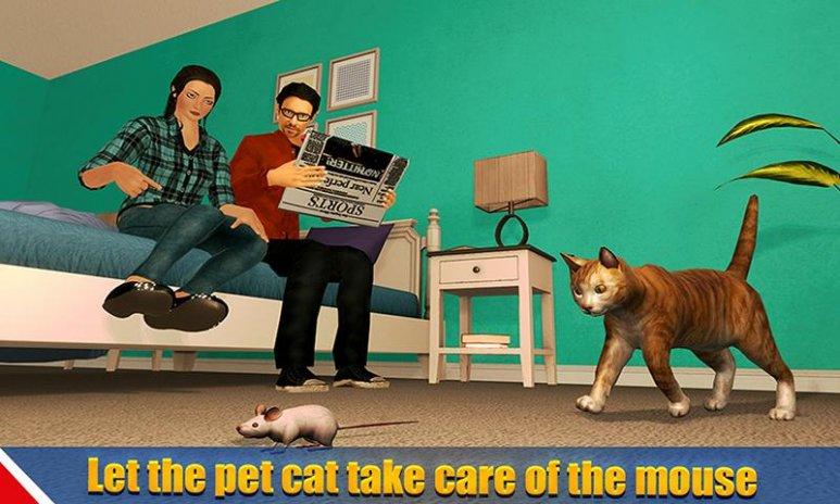 Virtual Dog Pet Cat Home Adventure Family Game Screenshot 4