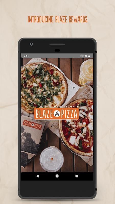Blaze Pizza screenshot 1