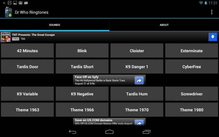 Doctor Who Sounds and Ringers 5 1 42 Download APK for Android - Aptoide