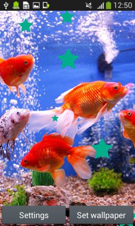 تحميل Apk لأندرويد آبتويد حوض السمك خلفيات حية19
