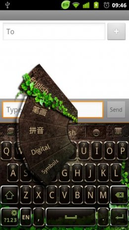 GO Keyboard Black Green 2014 1 0 Download APK for Android