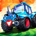 Tractor rush: Animal rescue adventure, shoot'em up