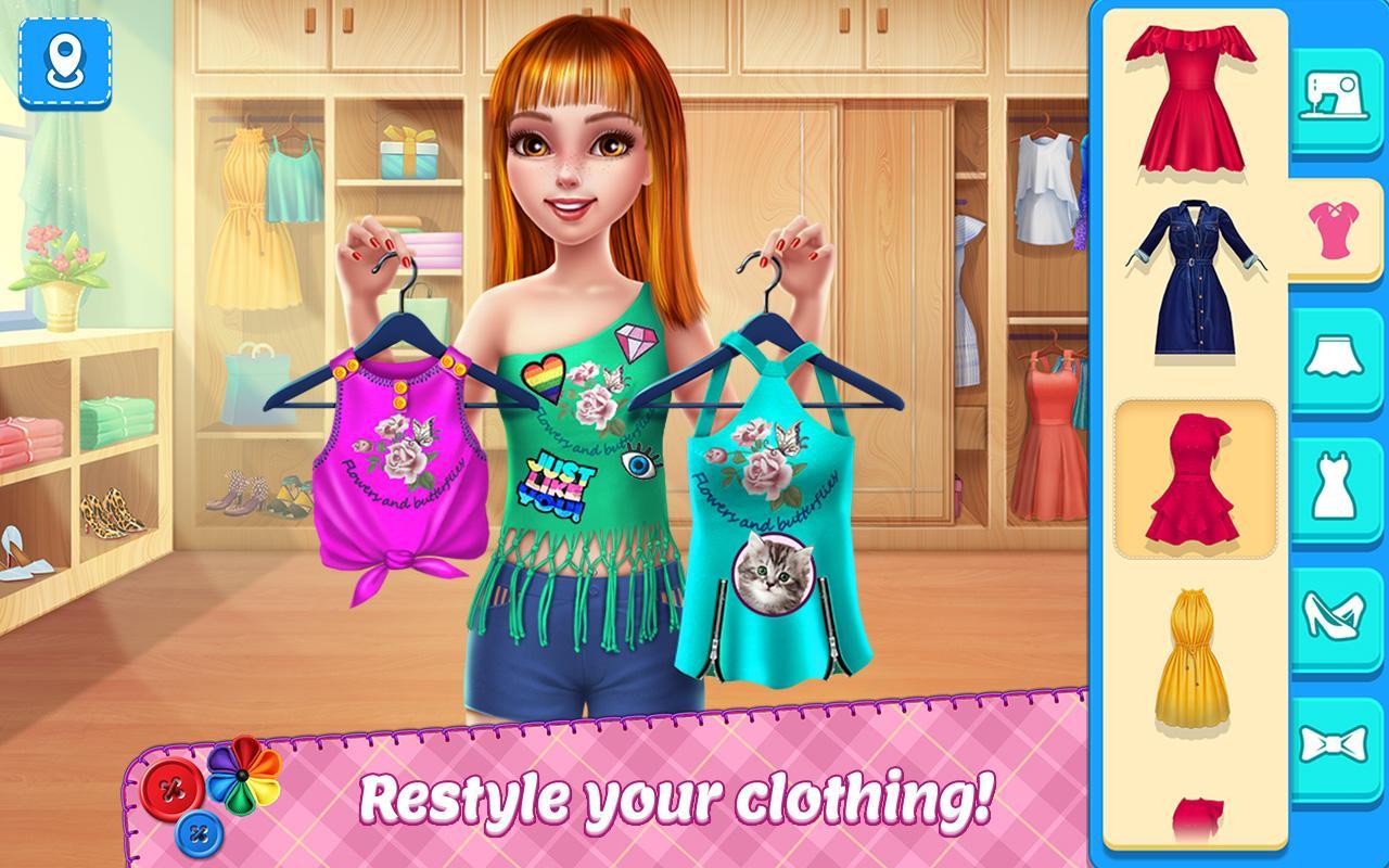 DIY Fashion Star - Design Hacks Clothing Game screenshot 1