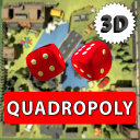 Quadropoly 3D - Online Classic Business Board Game