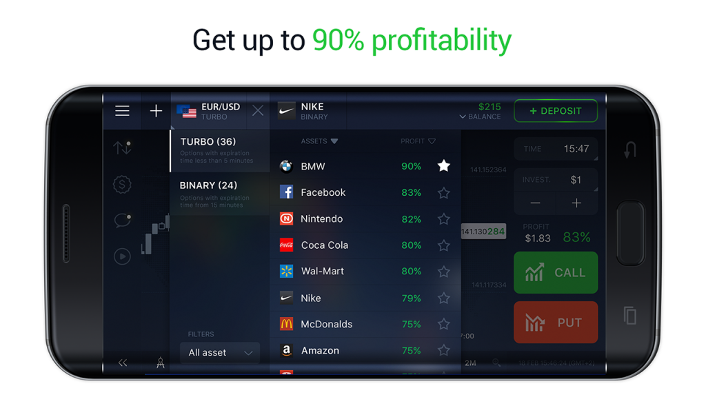 Binary options android