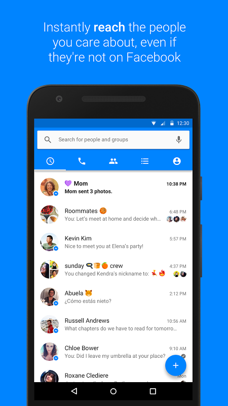 Facebook Messenger 232 0 0 9 121 Download APK para Android